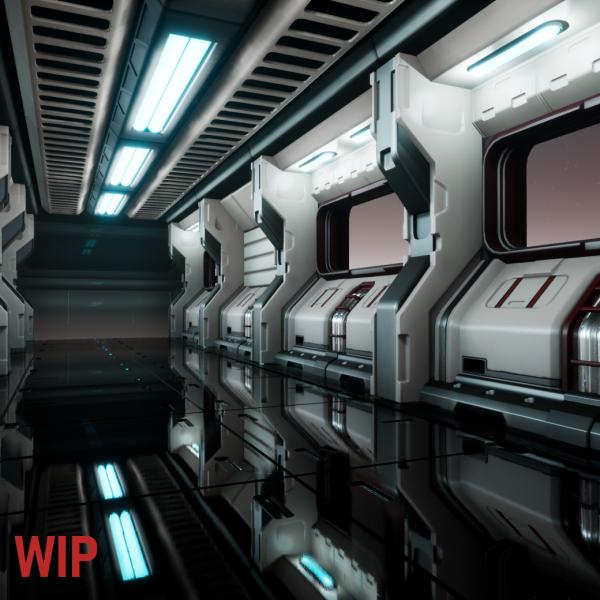 WIP Space Corridor